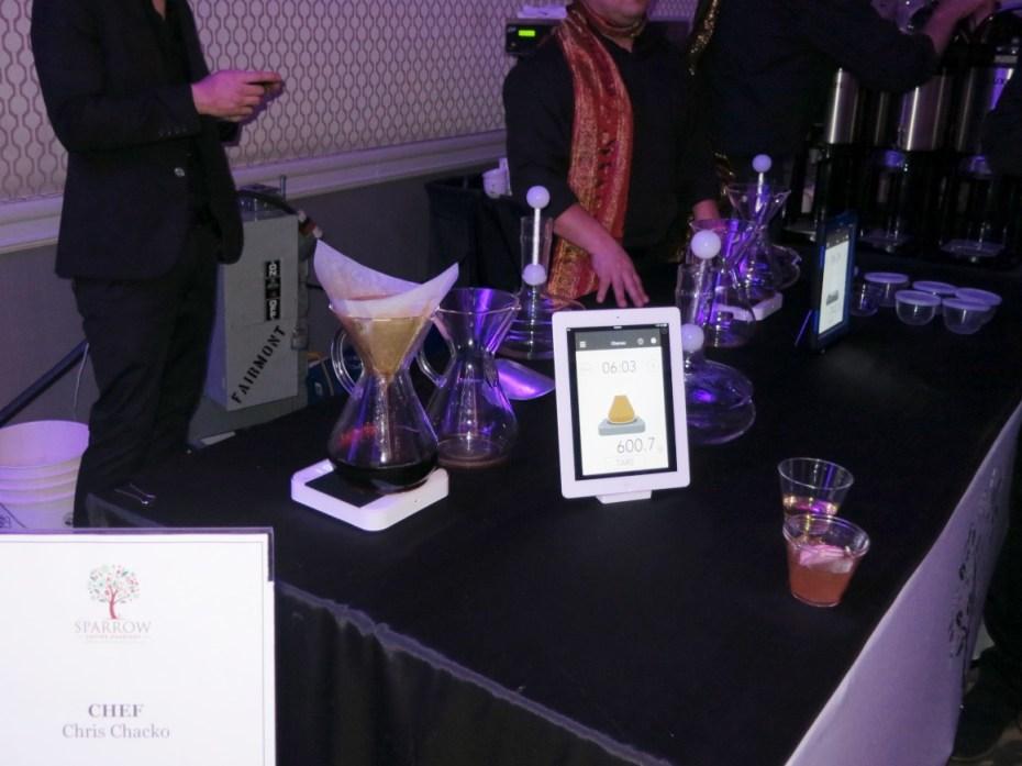 Sparrow Coffee at Grand Chefs Gala Nightcap