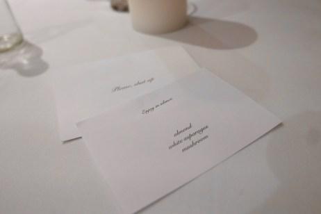 Inside the envelope.