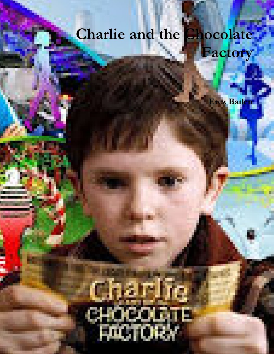 Charlie And The Chocolate Factory Lousy Book Covers