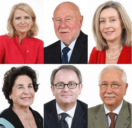 Joelle Garriaud-Maylam, Jean-Pierre Cantegrit, Hélène Conway-Mouret, Christine Kammermman, Jean-Yves Leconte, Louis Duvernois