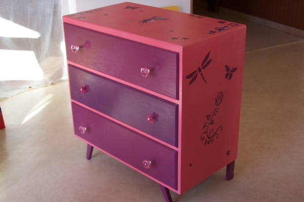 commode pour petite fille