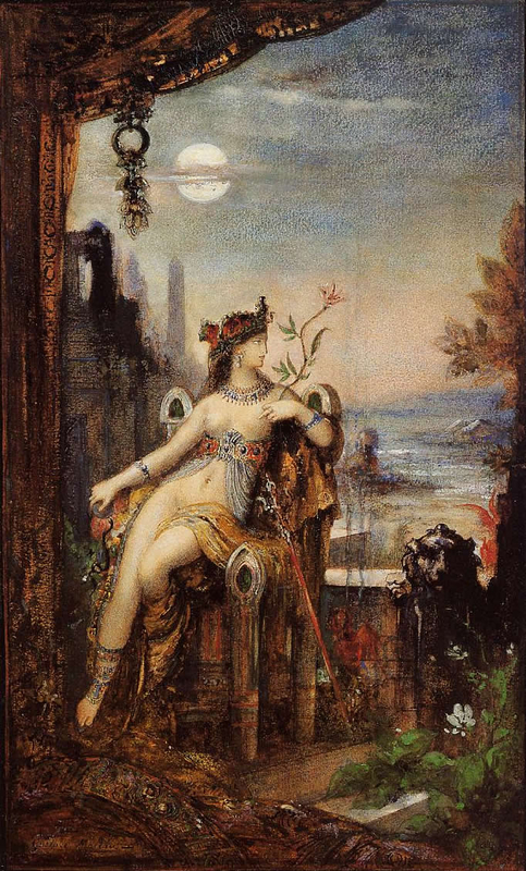 Cleopatra_by_Gustave_Moreau