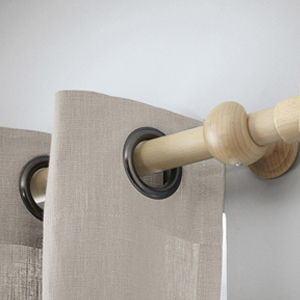 barres de rideau et tringles