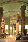 Новый древнеегипетский участок в музее.