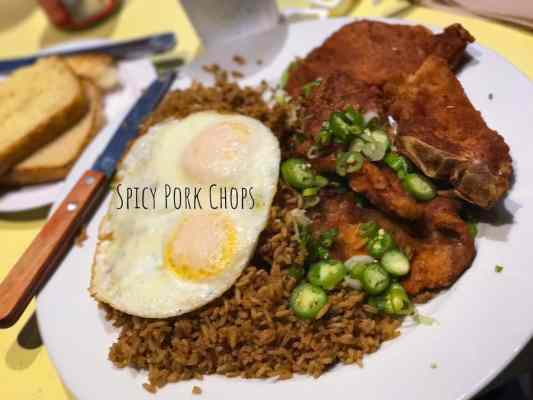 Uncle John's Cafe: The Ultimate American-Chinese Diner - Spicy Pork Chops