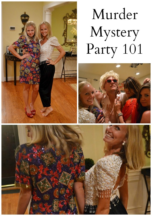 Favorite Things: How to Host a Murder Mystery Party * Lou What Wear