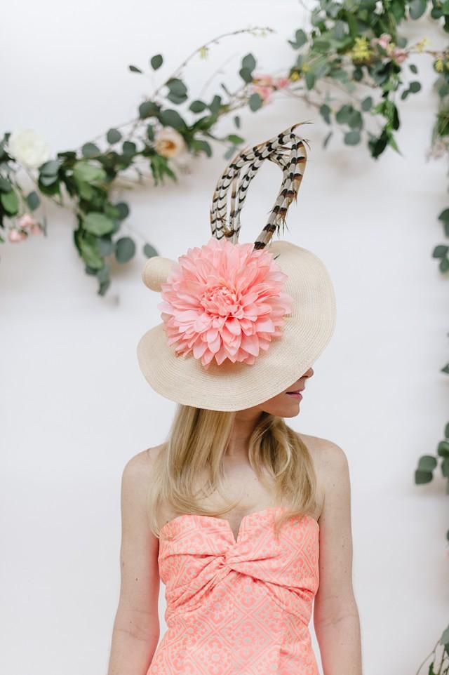 Pink Romper * Kentucky Derby Style * Derby Hats * Derby Style_0053
