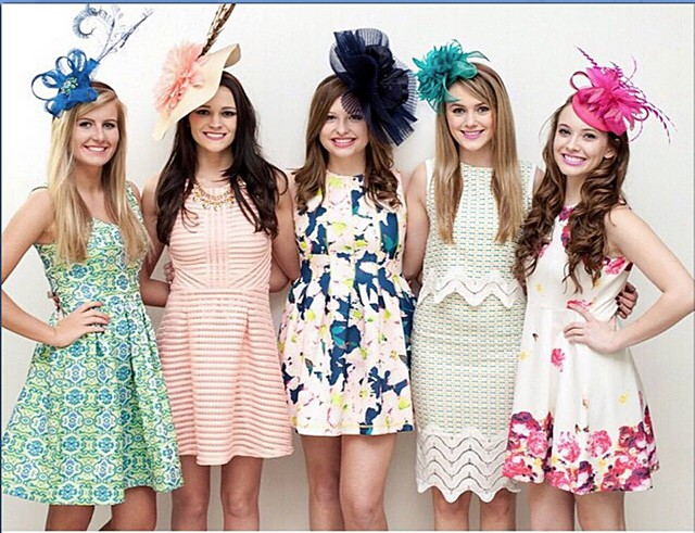 Kentucky Derby Hats and Fascinators * Britni Knable * Headcandi (20)
