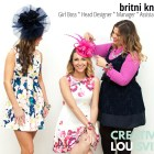 Kentucky Derby Hats and Fascinators * Britni Knable * Headcandi (24)