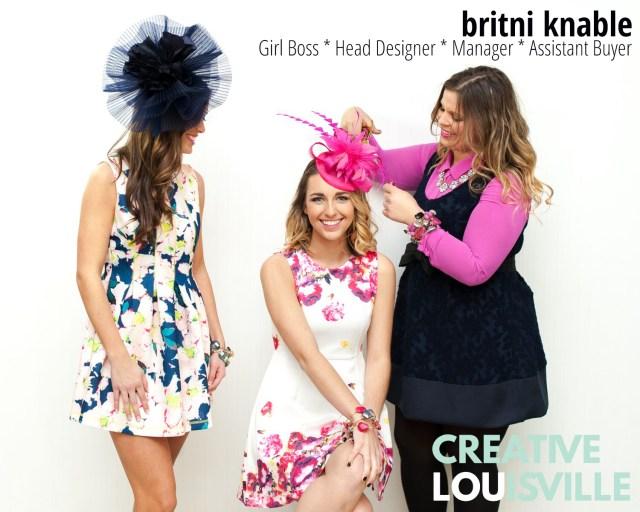Creative Louisville Britni Knable Headcandi Derby Hats
