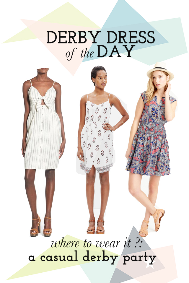 Derby Dress of the Day: Casual Derby Party