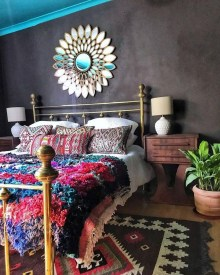 Adorable Bohemian Bedroom Decoration Ideas You Will Totally Love 13