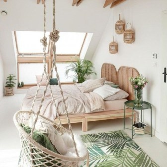 Adorable Bohemian Bedroom Decoration Ideas You Will Totally Love 36