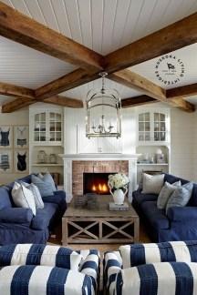 Elegant Coastal Themes For Your Living Room Design 45
