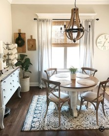 Rustic Farmhouse Dining Room Design Ideas 04