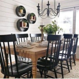 Rustic Farmhouse Dining Room Design Ideas 10