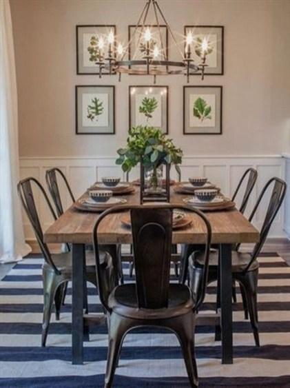 Rustic Farmhouse Dining Room Design Ideas 19