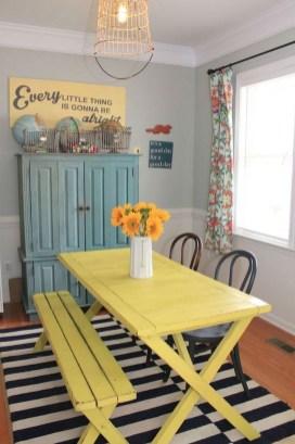 Rustic Farmhouse Dining Room Design Ideas 30