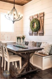 Rustic Farmhouse Dining Room Design Ideas 33