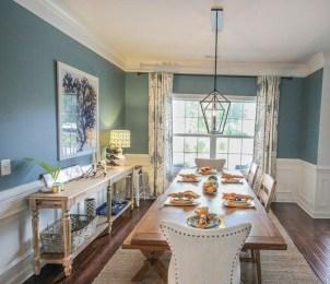 Rustic Farmhouse Dining Room Design Ideas 38
