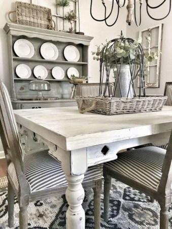 Rustic Farmhouse Dining Room Design Ideas 45