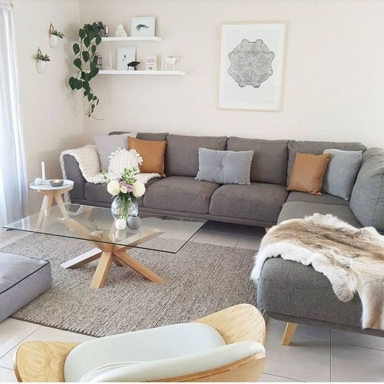 Stunning Small Living Room Design For Small Space 10