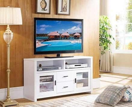 Amazing Wooden TV Stand Ideas You Can Build In A Weekend 03