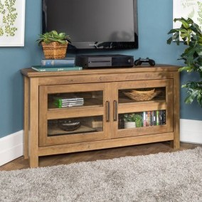 Amazing Wooden TV Stand Ideas You Can Build In A Weekend 04