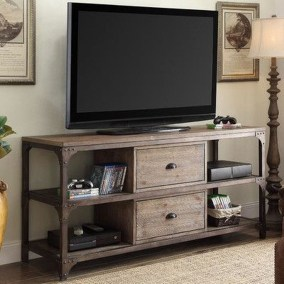 Amazing Wooden TV Stand Ideas You Can Build In A Weekend 06