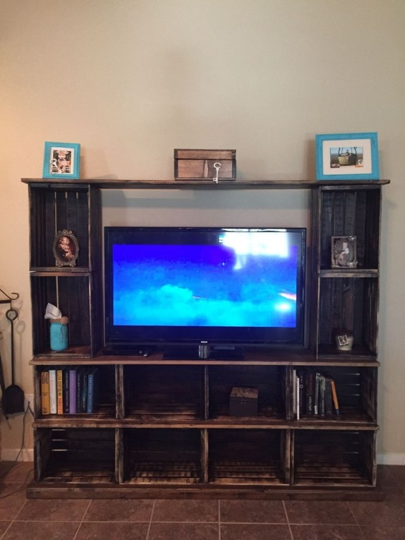 Amazing Wooden TV Stand Ideas You Can Build In A Weekend 07