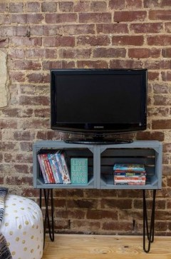 Amazing Wooden TV Stand Ideas You Can Build In A Weekend 27