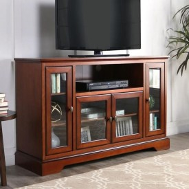 Amazing Wooden TV Stand Ideas You Can Build In A Weekend 32