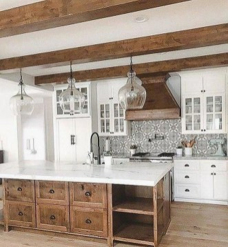 Awesome Kitchen Design Ideas To Cooking In Summer 32
