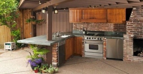 Awesome Kitchen Design Ideas To Cooking In Summer 45