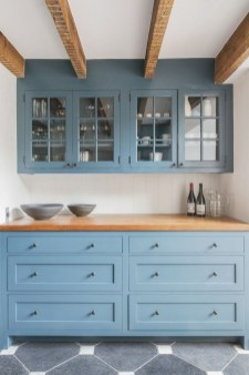 Cool Blue Kitchens Ideas For Inspiration 08