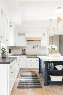 Cool Blue Kitchens Ideas For Inspiration 17