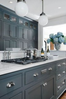 Cool Blue Kitchens Ideas For Inspiration 18