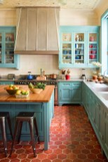 Cool Blue Kitchens Ideas For Inspiration 21