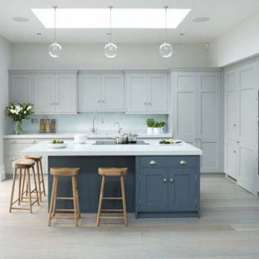 Cool Blue Kitchens Ideas For Inspiration 26