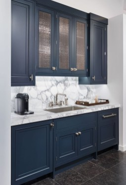 Cool Blue Kitchens Ideas For Inspiration 34