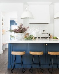 Cool Blue Kitchens Ideas For Inspiration 38