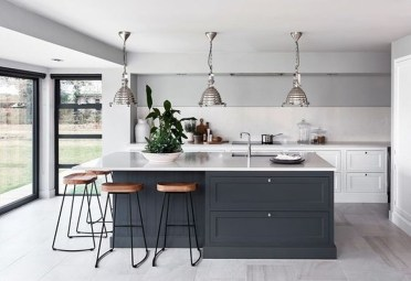 Cool Blue Kitchens Ideas For Inspiration 40