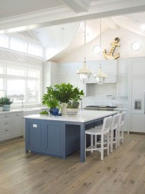 Cool Blue Kitchens Ideas For Inspiration 45