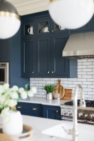 Cool Blue Kitchens Ideas For Inspiration 47