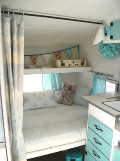 Cozy RV Bed Remodel Ideas On A Budget 02