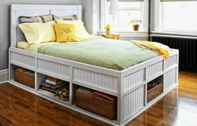 Cozy RV Bed Remodel Ideas On A Budget 05