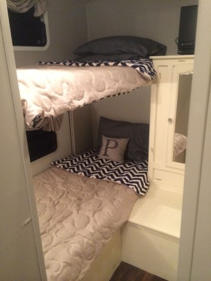 Cozy RV Bed Remodel Ideas On A Budget 09