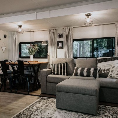 Cozy RV Bed Remodel Ideas On A Budget 10