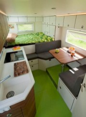 Cozy RV Bed Remodel Ideas On A Budget 15