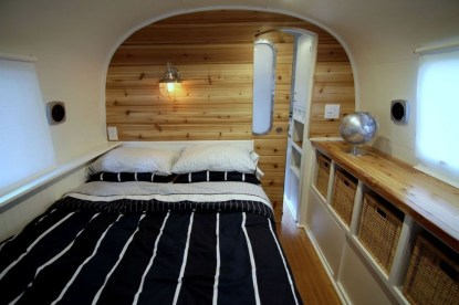 Cozy RV Bed Remodel Ideas On A Budget 18